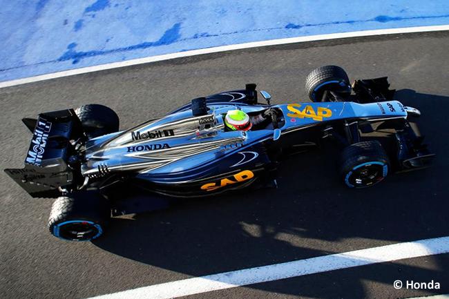 Prueba McLaren Honda 2014