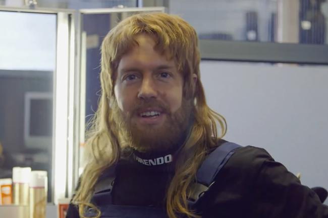 Sebastian Vettel - Mecánico - Tirendo