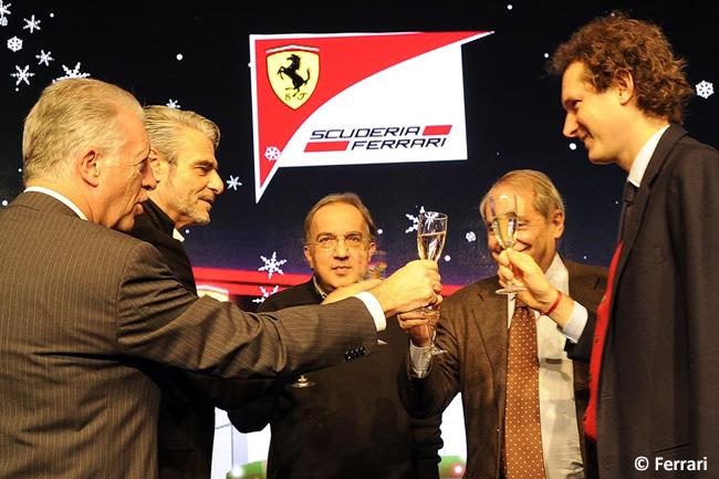 Cena Navidad - Scuderia Ferrari - 2014