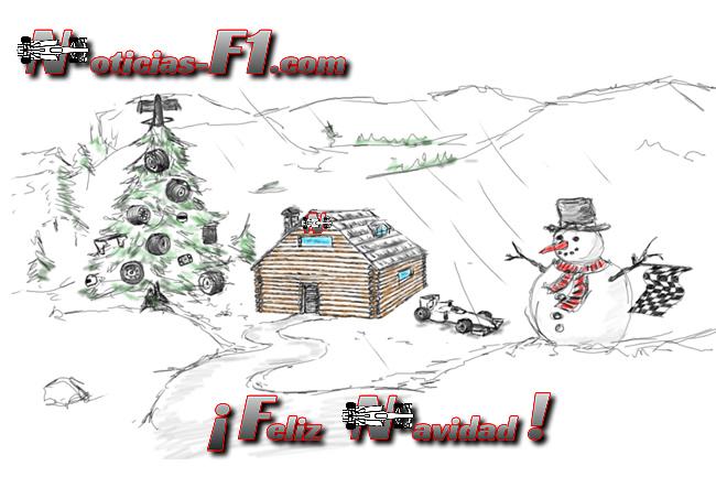 Felicitación Navidad 2014 - www.noticias-f1.com