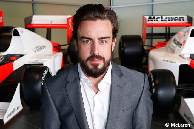 Fernando Alonso - Presentación - Alineación - McLaren-Honda - Temporada 2015