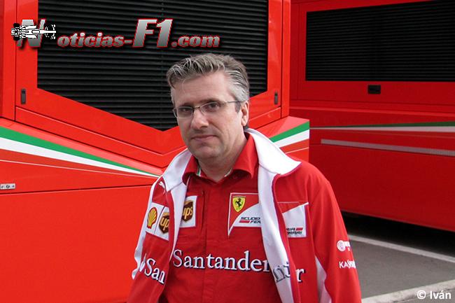 Pat Fry - Scuderia Ferrari - www.noticias-f1.com