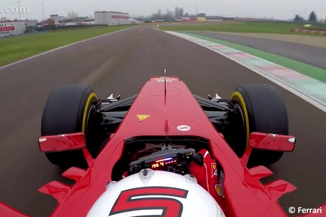 Sebastian Vettel - Scuderia Ferrari - Fiorano - Onboard