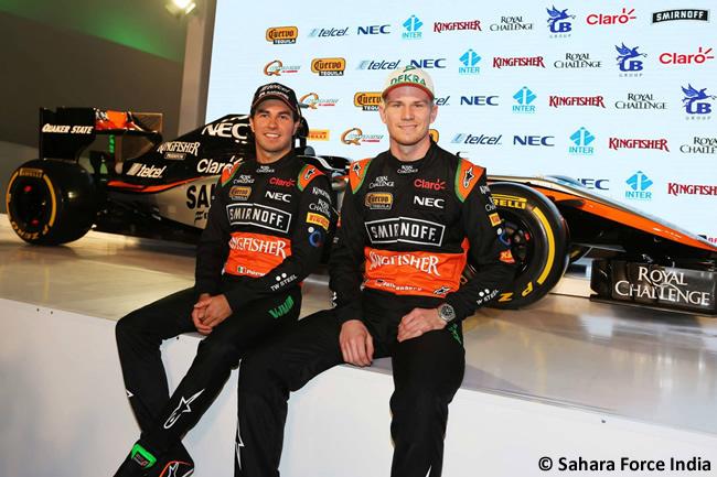 Presentación - Sahara Force India - VJM08 - 2015