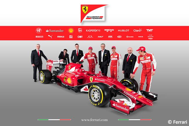 Scuderia Ferrari - SF15T  - Equipo