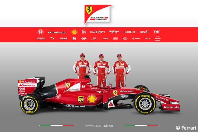 Scuderia Ferrari - SF15T  - Sebastian Vettel - Kimi Raikkonen -  Esteban Gutiérrez