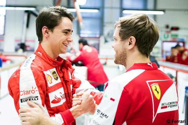 Esteban Gutiérrez - Sebastian Vettel - Scuderia Ferrari