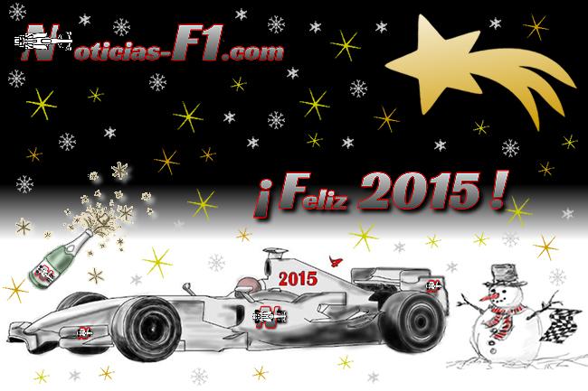 Feliz Año 2015 - www.noticias-f1.com