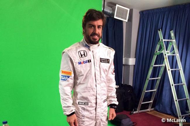 Fernando Alonso - McLaren - 2015 - Mono
