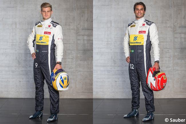 Sauber 2015 - Marcus Ericsson - Felipe Nasr