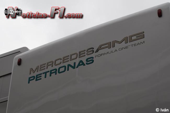 Logo Mercedes AMG Petronas - www.noticias-f1.com