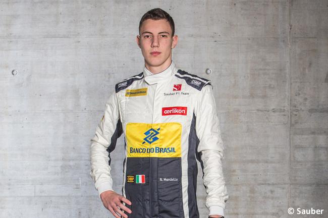 Raffaele Marciello - Sauber 2015 - Piloto de Pruebas