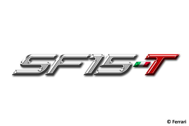 SF15-T Logo Monoplaza Scuderia Ferrari - Temporada 2015 - F1