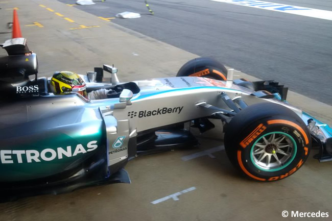 Pascal Wehrlein - Mercedes - Test - Pretemporada 2015 - Día 1