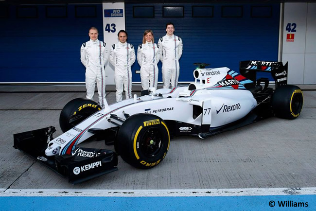 Williams F1 Team - FW37 - Presentación
