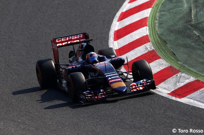Carlos Sainz Jr - Scuderia Toro Rosso - Test Pretemporada - 2015 - Día 2