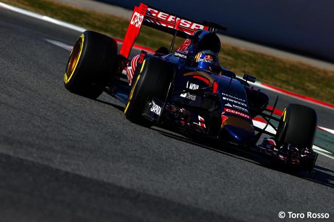 Carlos Sainz - Toro Rosso - Test Barcelona Pretemporada 2015 - Día 4