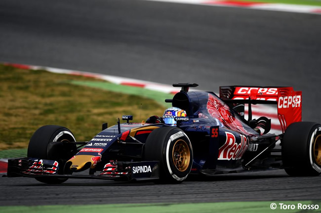 Carlos Sainz Jr - Toro Rosso - Día 1 - Test Barcelona 2 - Pretemporada 2015 - F1