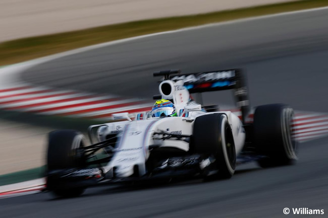 Felipe Massa - Williams - Día 1 - Test Barcelona 2 - Pretemporada 2015 - F1