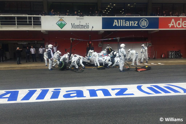 Felipe Massa - Williams - Test Pretemporada 2015 - Día 3