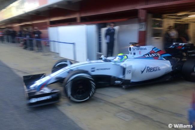 Felipe Massa - Williams Día 1 - Test Barcelona 2 - Pretemporada 2015 - F1