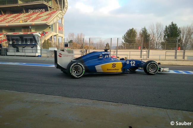 Felipe Nasr - Sauber - F1 - Test Pretemporada 2015 - Día 1