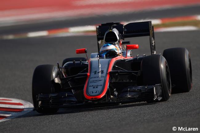 Fernando Alonso - McLaren - Test - Pretemporada Barcelona - Día 2