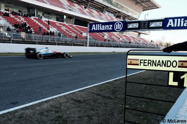 Fernando Alonso - McLaren - Test Barcelona Pretemporada 2015 - Día 4