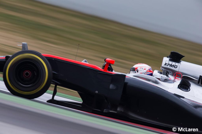 Jenson Button - McLaren - Test Pretemporada 2015 - Barcelona - Día 3