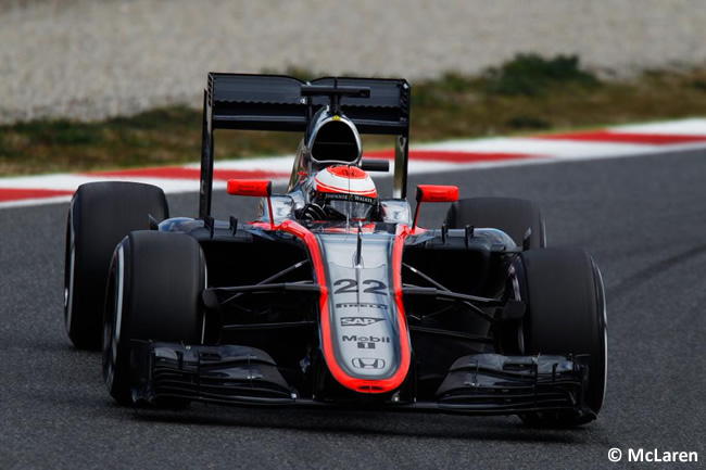 Jenson Button - McLaren - Día 1 - Test Barcelona 2 - Pretemporada 2015 - F1