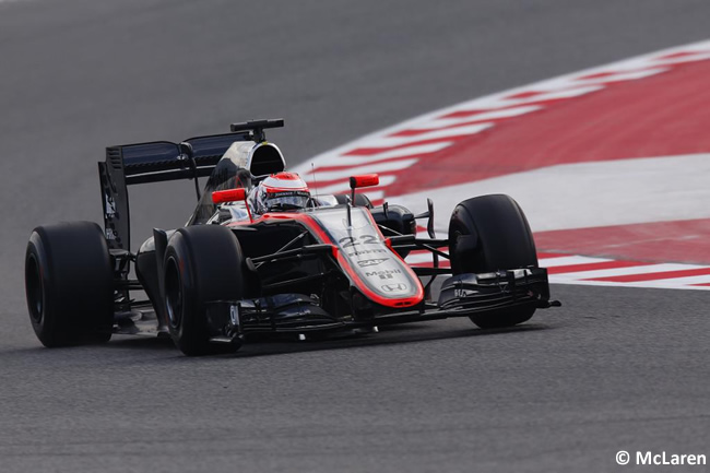 Jenson Button - McLaren - Día 2- Test Barcelona 2 - Pretemporada 2015 - F1