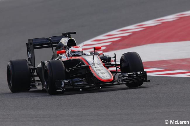 Jenson Button - McLaren - Día 2- Test Barcelona 2 - Pretemporada 2015 - F1