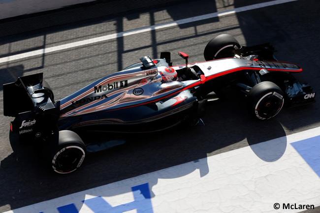 Jenson Button - McLaren - Honda - Pretemporada 2015 - Test Barcelona - Montmeló - Día 1