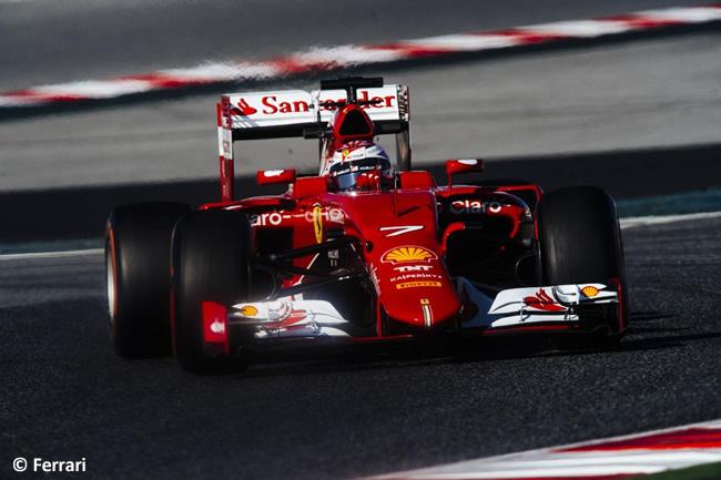 Kimi Raikkonen - Scuderia Ferrari - Test Barcelona - Pretemporada - Día 1