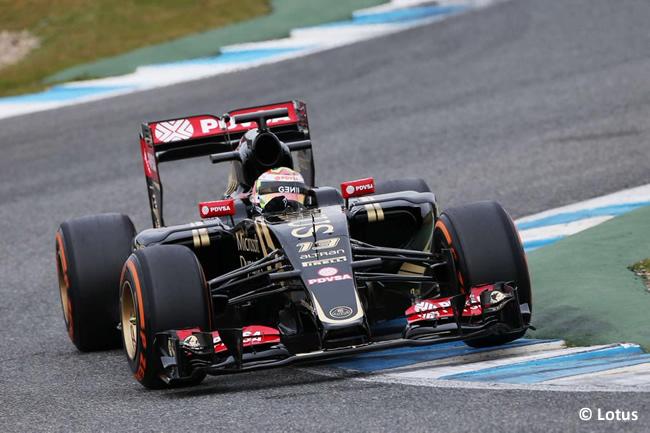Pastor Maldonado - Lotus - E23 - Día 2 - Test Jerez