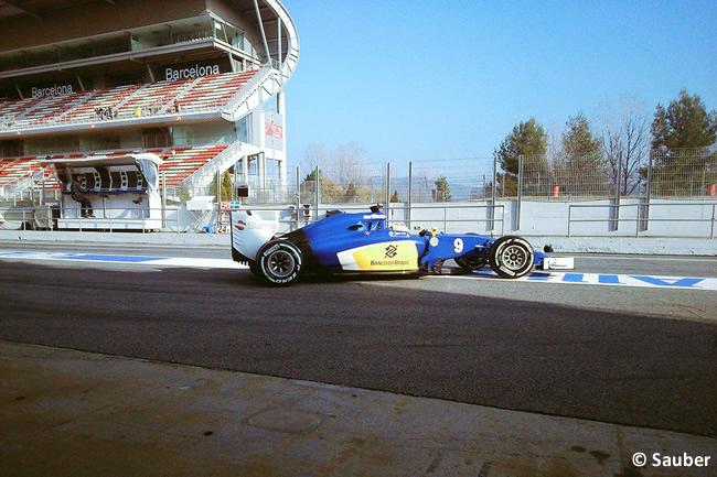 Marcus Ericsson - Sauber - Test - Pretemporada 205 - Barcelona - Día 2