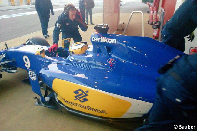 Marcus Ericsson - Sauber - Test Pretemporada 2015 - Día 3