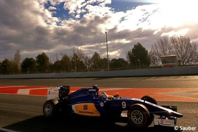 Marcus Ericsson - Sauber - Día 1 - Test Barcelona 2 - Pretemporada 2015 - F1