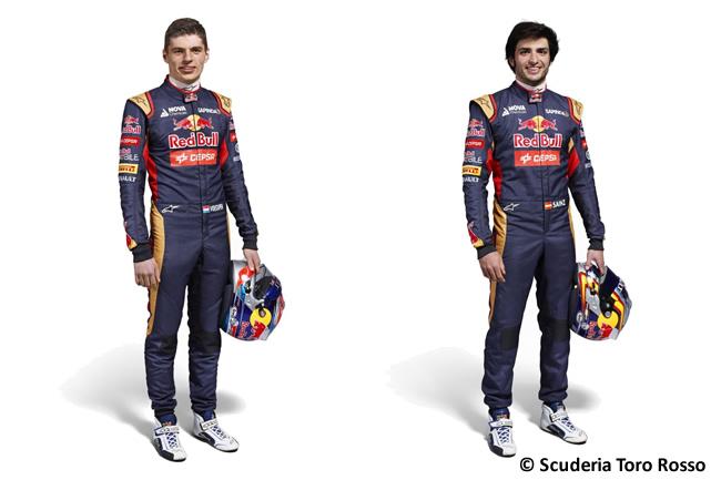 Scuderia Toro Rosso - 2015 - Max Verstappen - Carlos Sainz