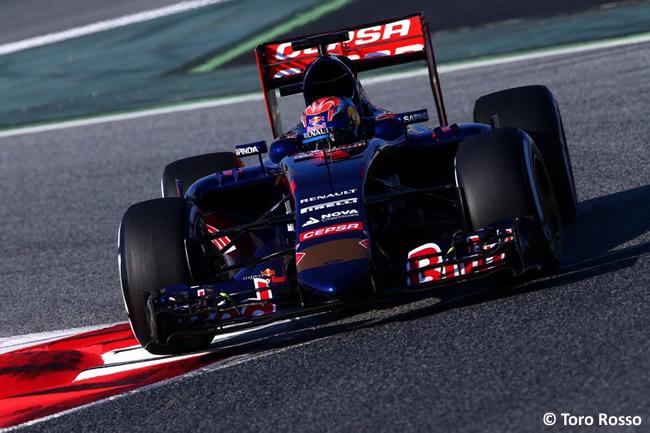 Max Verstappen - Toro Rosso - Pretemporada - 2015 - Barcelona - Test - Día 1
