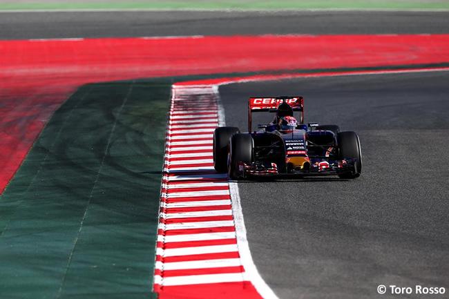 Max Verstappen - Toro Rosso - Día 2- Test Barcelona 2 - Pretemporada 2015 - F1