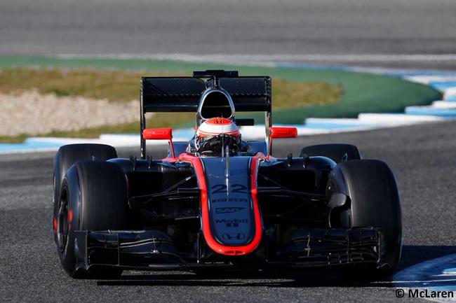 McLaren - Jenson Button - MP4-30 - Test Jerez Pretemporada 2015 - Honda