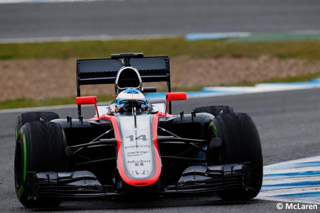 McLaren - Honda - Fernando Alonso - MP4-30 - Día 3 - Test Jerez