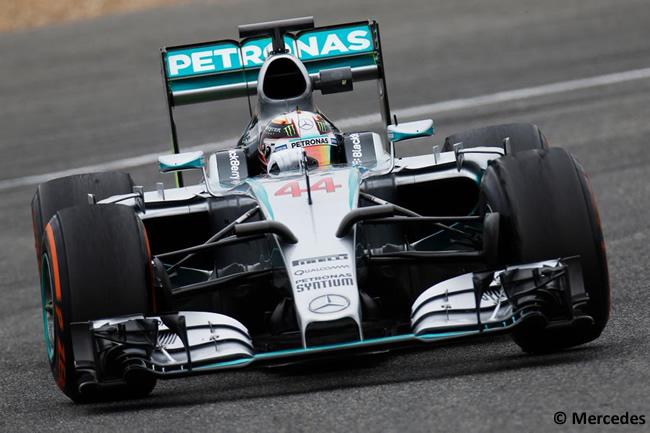 Mercedes - Lewis Hamilton - F1 W06 - Día 4 - Test Jerez - Pretemporada