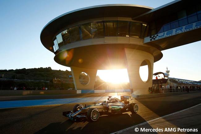 Mercedes - Nico Rosberg - Test Jerez - Pretemporada 2015 - Día 1