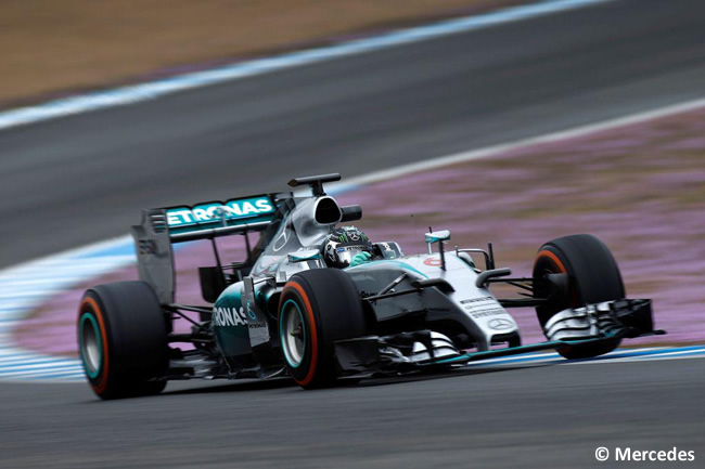 Nico Rosberg - Mecedes - F1 W06 - Día 3 - Test Jerez