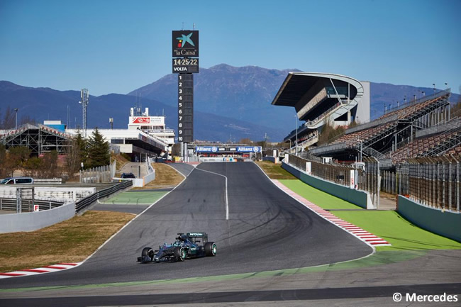 Nico Rosberg - Mercedes - Test Barcelona Pretemporada 2015 - Día 4