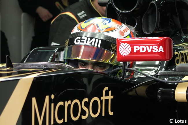 Pastor Maldonado - Lotus - Test Barcelona - Pretemporada 2015 - Día 3