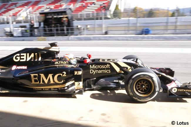 Pastor Maldonado - Lotus - Día 2- Test Barcelona 2 - Pretemporada 2015 - F1