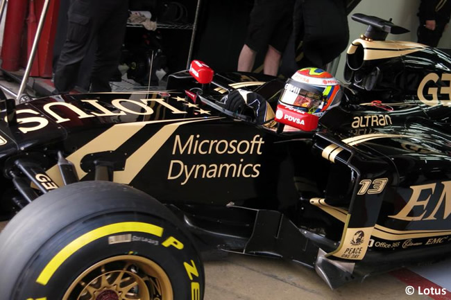 Pastor Maldonado - Lotus - Test Barcelona - Pretemporada 2015